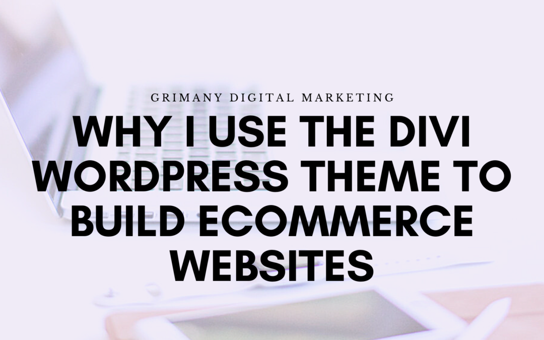 Why I Use the Divi WordPress Theme to Design Ecommerce Websites