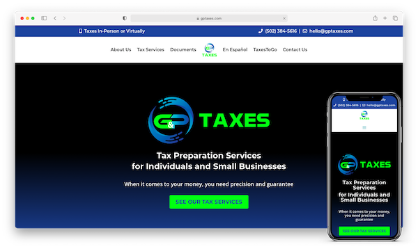 gp taxes website