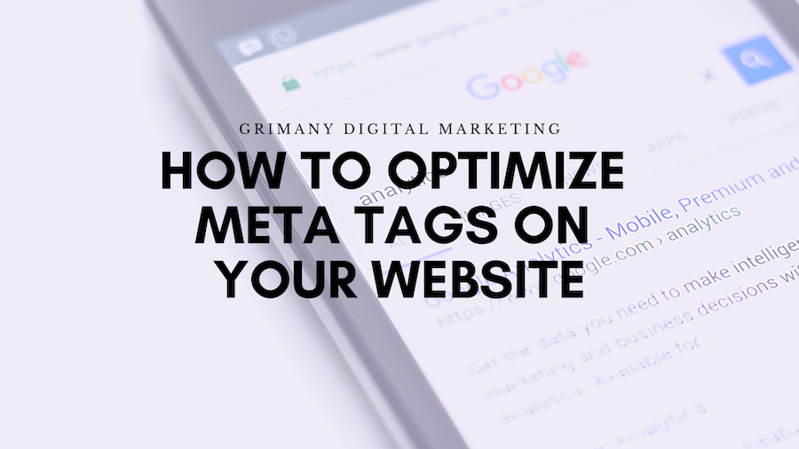 How to Optimize Meta Tags On Your Website