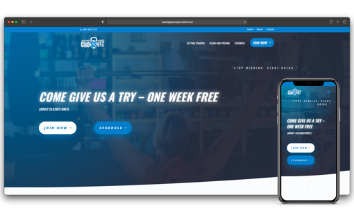 saratoga springs crossfit laptop iphone website